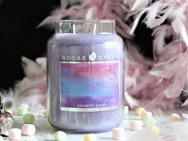 avis Rainbow Sugar Goose Creek, avis bougie rainbow sugar, rainbow sugar candle, avis goose creek, goose creek review, bougie barbe à papa, bougie cotton candy, bougie parfum barbe a papa, candle review, blog bougie, bougie parfumee