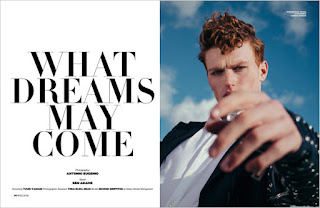 What Dreams May Come: George Griffiths Stars in MMSCENE Magazine