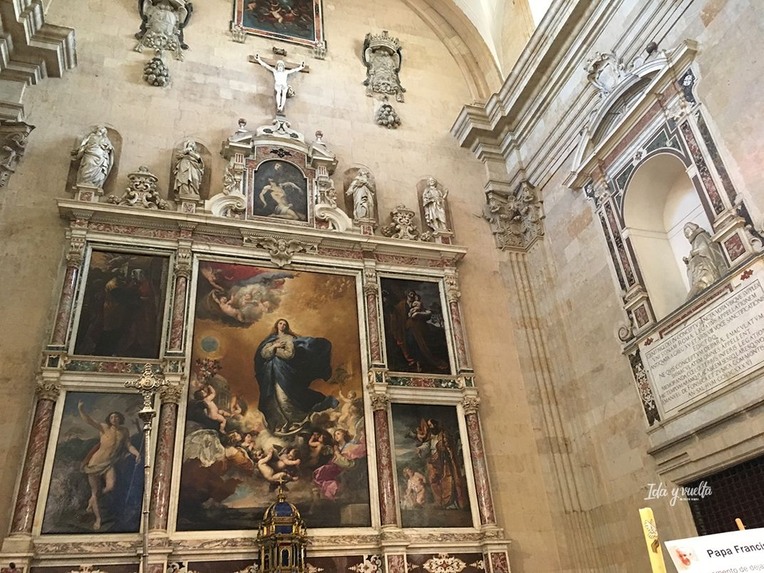 Iglesia Purísima Salamanca Inmaculada de Ribera