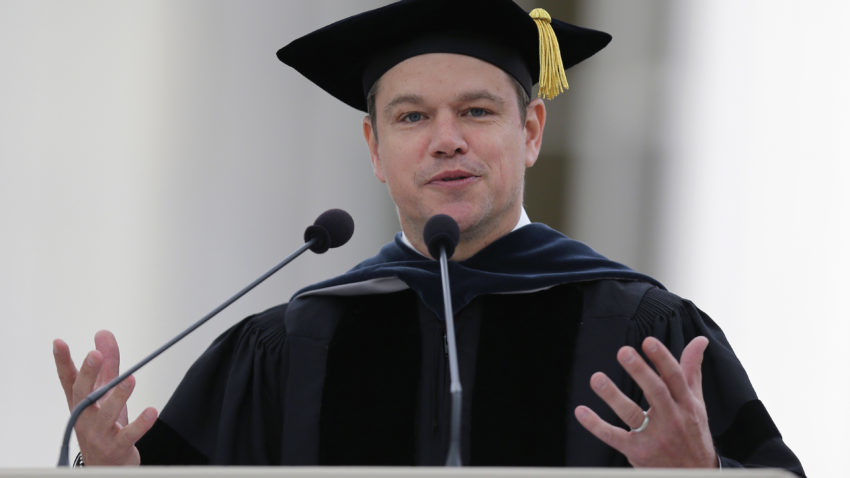 Matt Damon Questions That We Might Be Living In A Computer Simulation