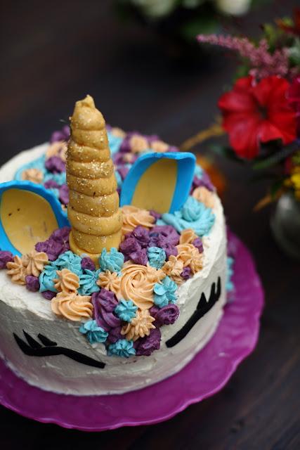 unicorn cake, yksisarviskakku