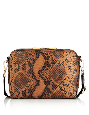 Marks and Spencer Faux Leather Mock Crocodile Skin Across Body Bag
