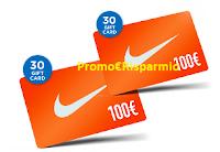 Logo Vitasnella : vinci gratis 30 buoni spesa Nike da 100€