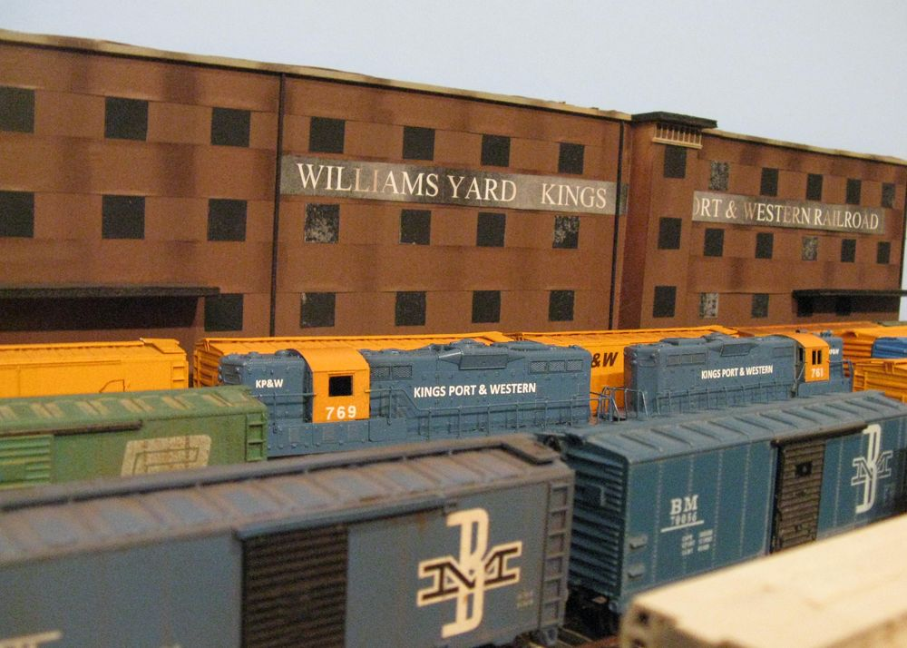 The Kings Port Division HO Scale Model Railroad : P C C M  43F: KP&W
