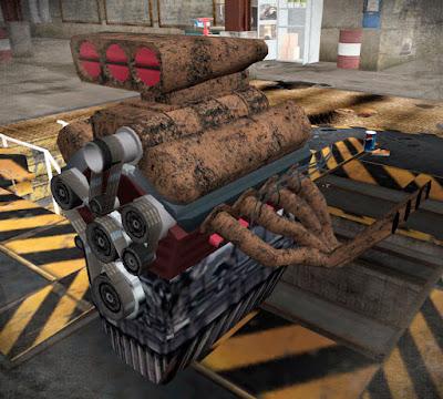 Motor do Tornado Rat Rod do GTA V para GTA San Andreas (Tuning Mod).