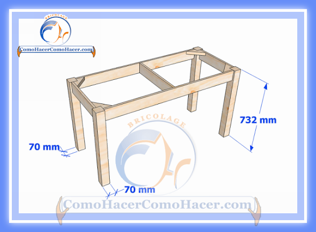 plano de mesa de madera medidas web del bricolaje dise o diy