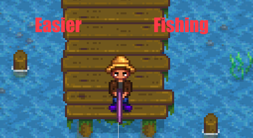 Easier Fishing Mod