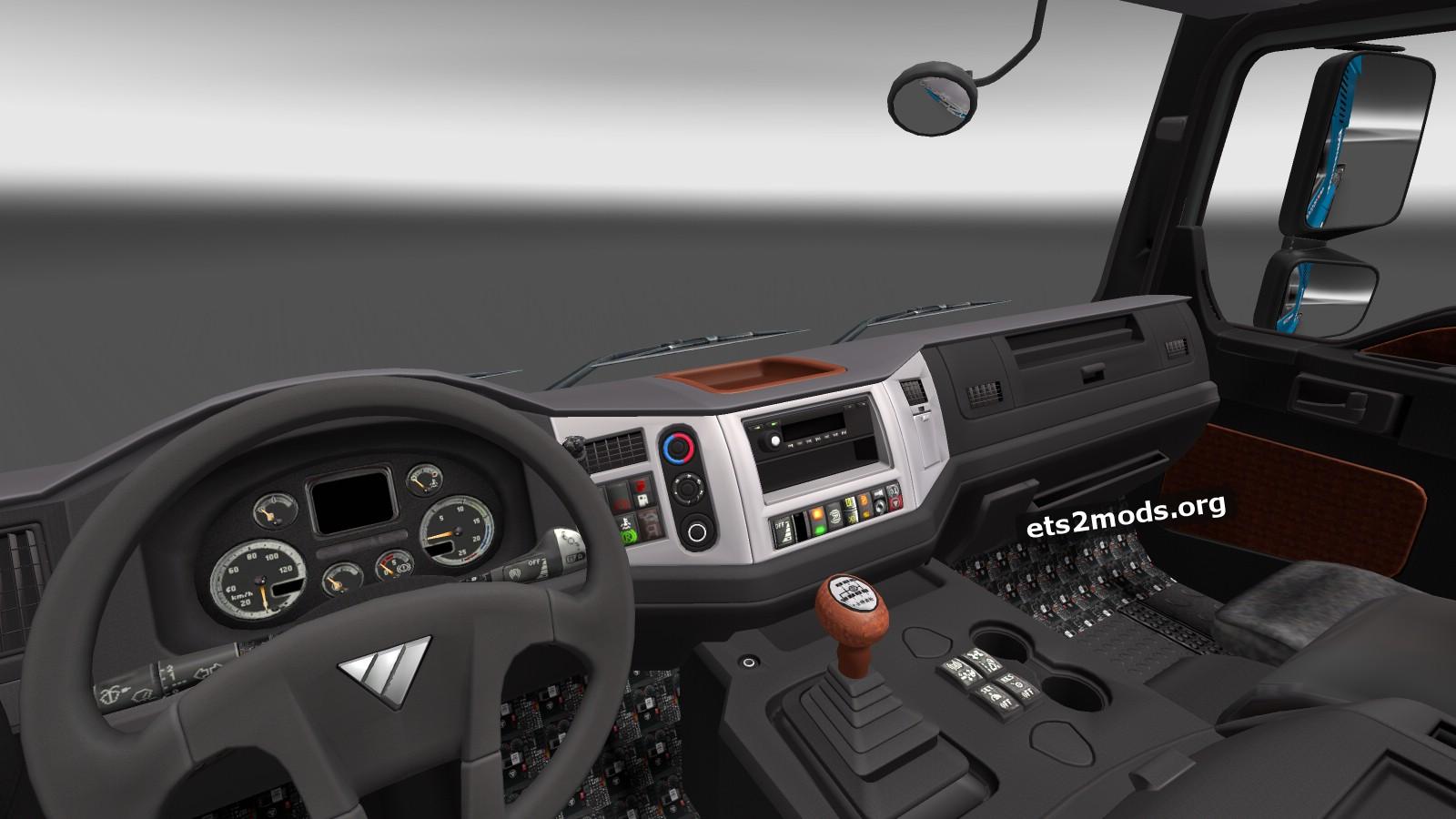 Foton Truck interior
