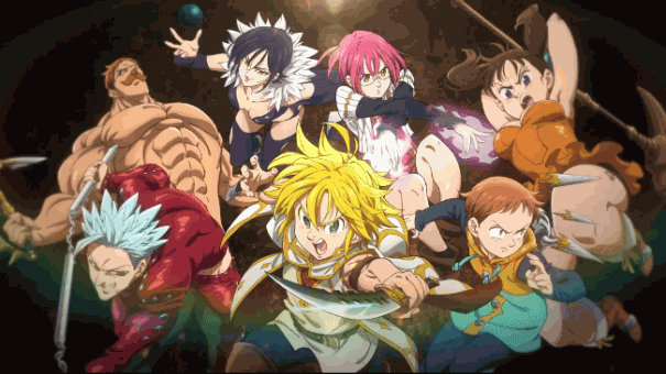 Nanatsu no Taizai - Anime Action Fantasy Terbaik dan Terseru