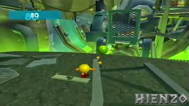 Pac-Man World 3 PS2 Gameplay