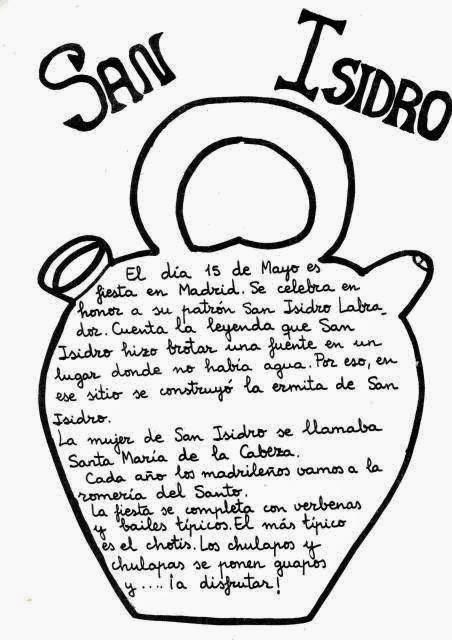 La clase de Religin mola: San Isidro Labrador