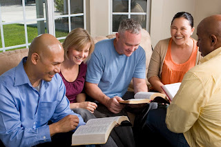 reading and sharing the word of God