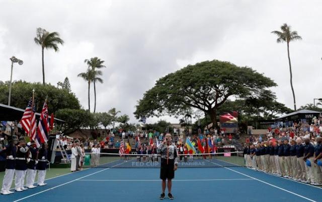 Asociación de Tenis EEUU se disculpa por cantar himno nazi