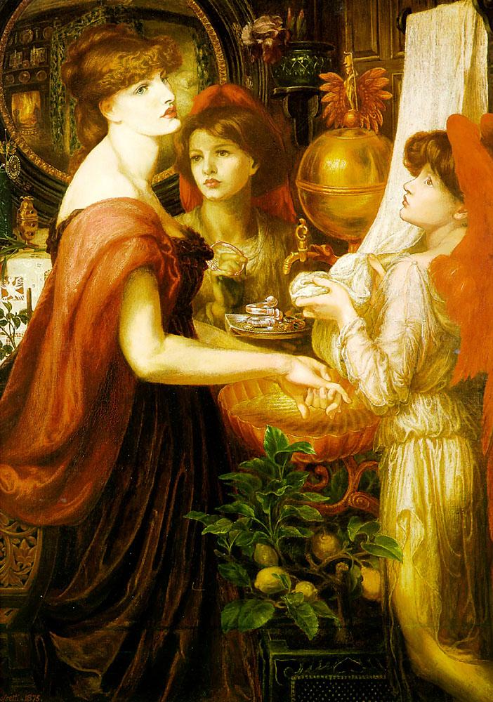 Victorian British Painting Dante Gabriel Rossetti Ctd