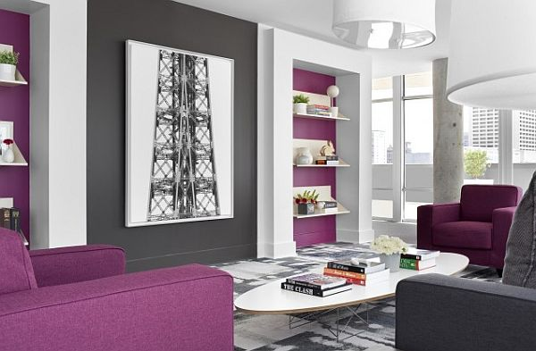 48+ Warna Cat Ruang Tamu 2 Warna Ungu Muda Paling Modern Dan Minimalis