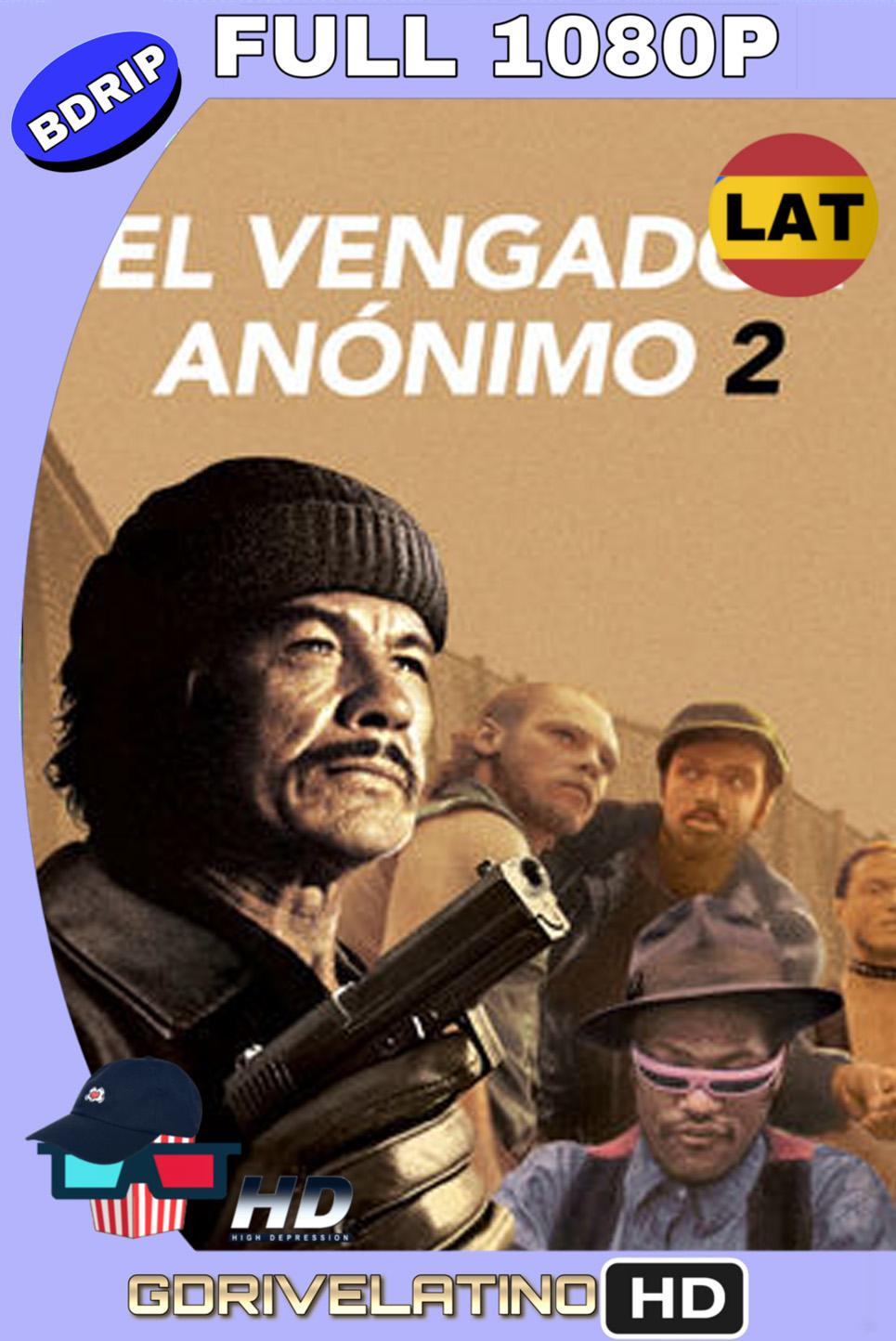 El Vengador Anónimo 2 (1981) BDRIP 1080p (60 FPS) Latino Inglés MKV