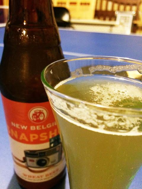 New Belgium Snapshot Wheat Beer 2