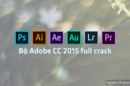 Bộ Adobe CC 2015 full crack