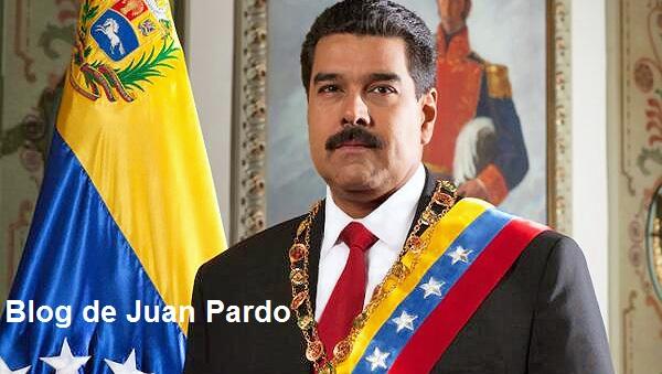 Blog dfe Juan Pardo: Versuchter Selbstmord oder Mord an Nicolás Maduro. Spät.