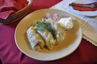 Töltött káposzta (Stuffed cabbage)
