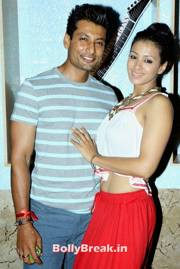 Indranil Roy, Barkha Bisht, Tv babes at Mink Brar's Borther Punnu Brar's Music Album Launch