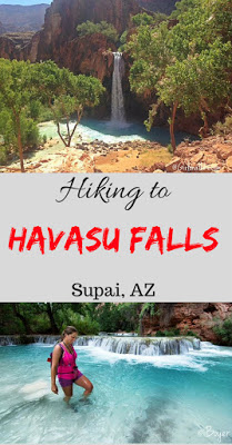 My 7 Favorite Adventures from 2016! Hiking to Havasu Falls