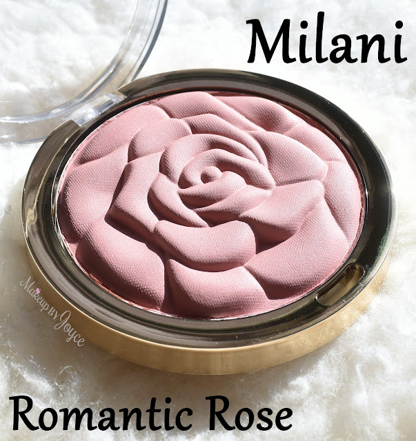 Milani Romantic Rose Powder Blush Review Swatch