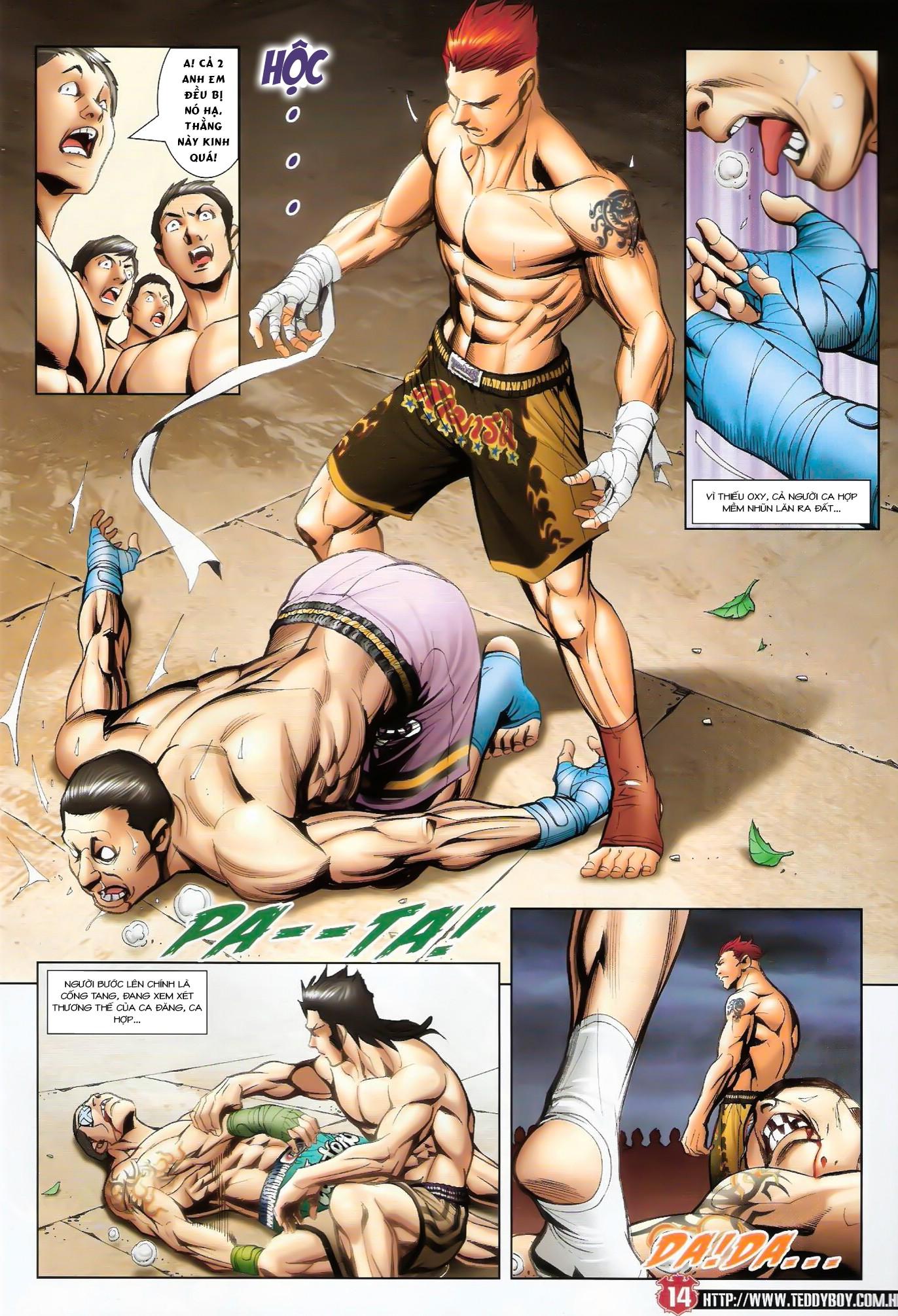 Người Trong Giang Hồ NetTruyen chap 1424 - Trang 13