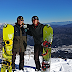 Snowboarding in Hakuba