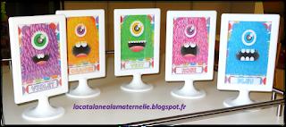 Groupes de couleurs monstres (LaCatalane)