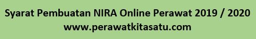 Syarat Pembuatan NIRA Online Perawat 2019 / 2020