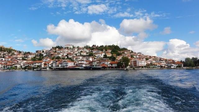 Qatar Sheikh Al Thani visits Ohrid