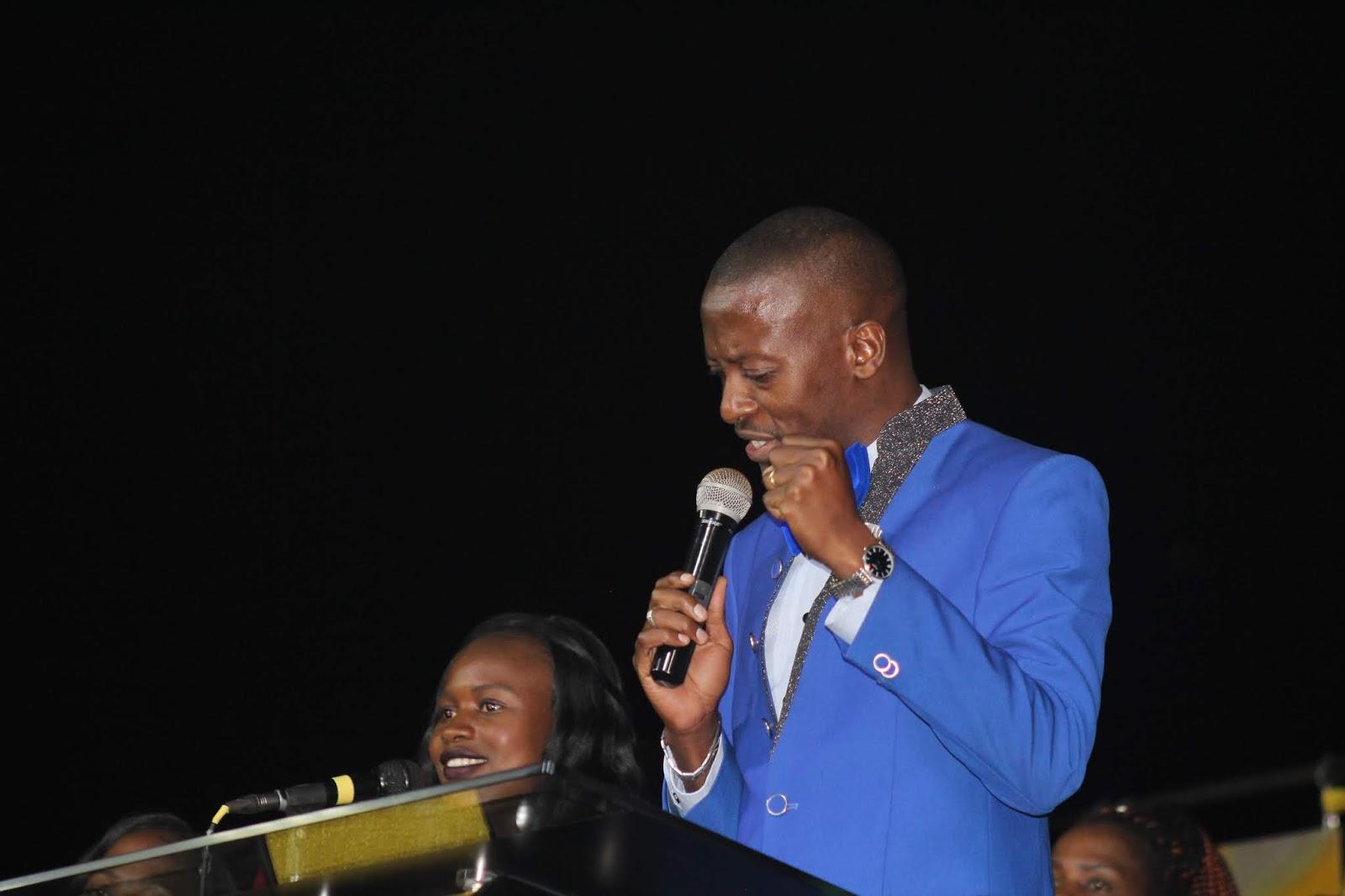 Apostle Pride Sibiya Introduces Apostle Shiloh Masenyama