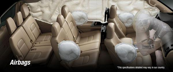Safety Toyota Land Cruiser