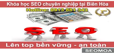 Khóa Học SEO website Tại Biên Hòa chất lượng