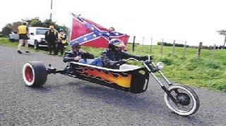 Motorcycle Clawfoot Tub