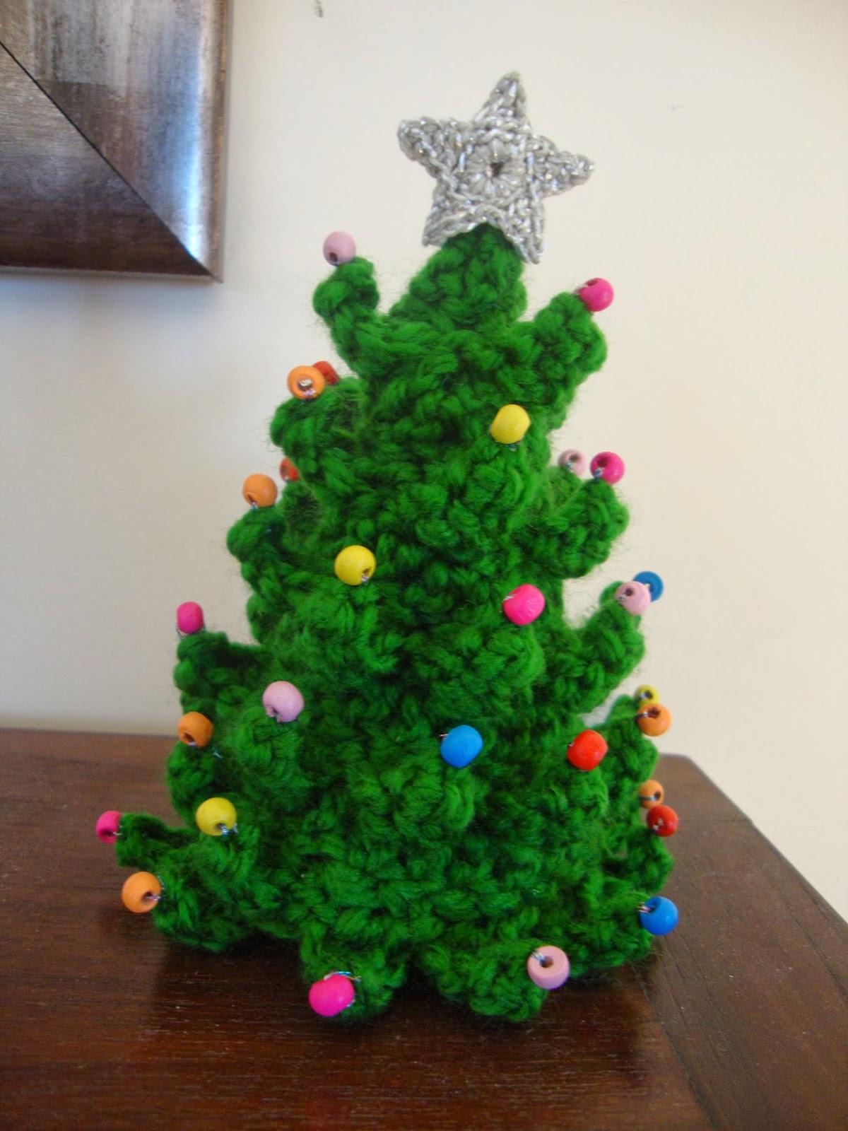 Creaciones batiburrillo arbol navidad crochet - Arboles de navidad pequenos ...