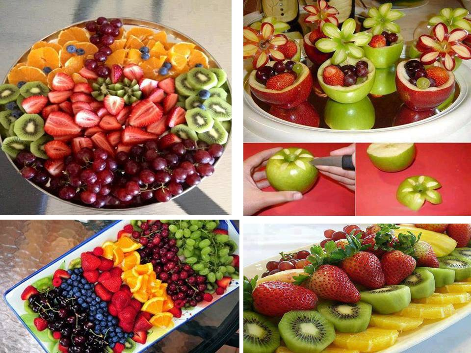 Delicious And beautiful Fruit salad design