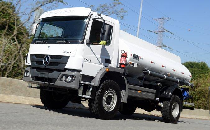 16907e7e4cc A Mercedes-Benz do Brasil está representada no maior salão de veículos  comerciais do mundo