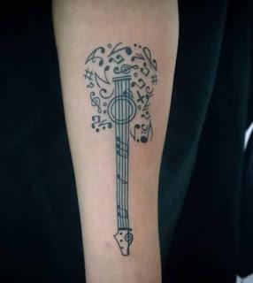 arm tattoo male