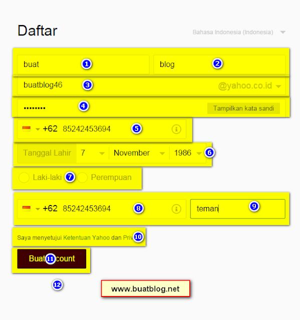 Cara Membuat Email Yahoo Dengan Mudah dan Cepat