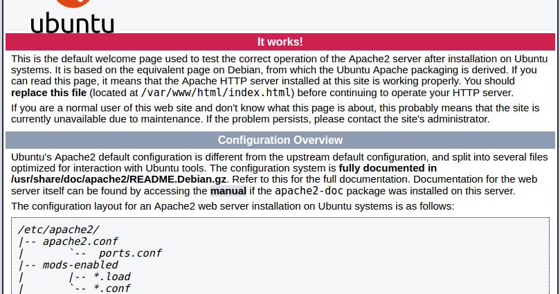 Servidor LAMP Linux Apache PHP MySQL PhpMyAdmin en Ubuntu 16.04 LTS Xenial Xerus