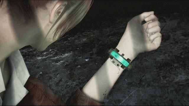 バイオハザード リベレーションズ2  クレアの腕にタイマーが