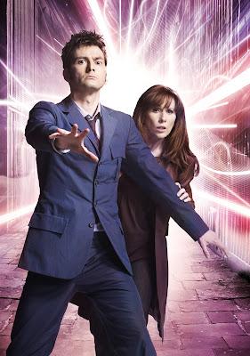 10th Doctor blue suit - publicity photo