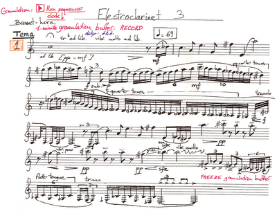 electroclarinet 3 manuscrit