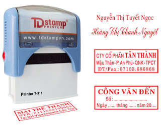 Con dấu td stamp