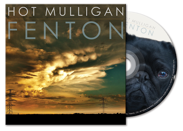 Hot Mulligan CD package by Johnny Mason