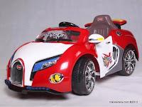 Mobil Mainan Aki Pliko PK9700 Police 2 Dinamo Motor