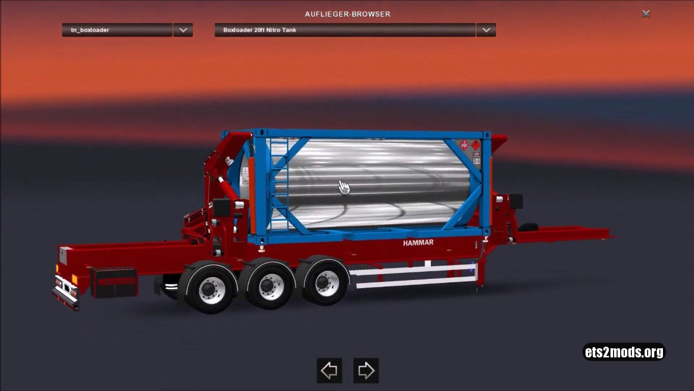 Hammar Boxloader trailer mod 7.0