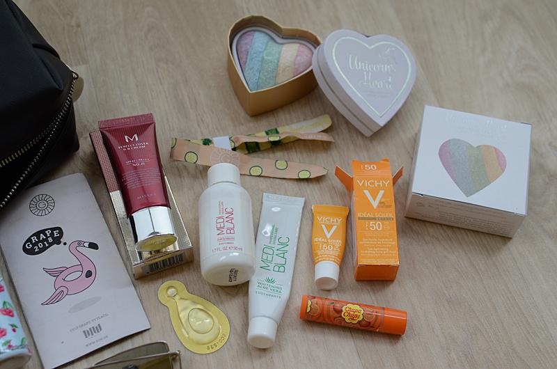 Miniaturky kosmetických produktů